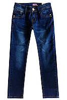 Синие джинсы для девочки; 116, 122, 134, 146 размер