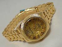 Часы женские ROLEX - Oyster Perpetual, цвет корпуса золотой, циферблат кружевной