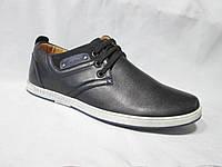 Туфли  подростковые для мальчиков 36-41 р., спортивные на шнурках, штрих-код на подошве, нашивки, черные