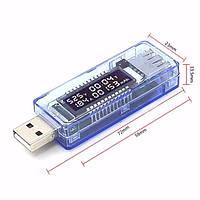 Тестер USB для измерения напряжения, силы тока и ёмкости аккумуляторов