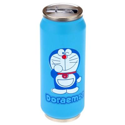 """Термос """"Cat Doraemon"""" с клапаном и трубочкой 400 мл"""