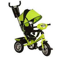 Велосипед трехколесный с фарой TURBOTRIKE M 3115-4HA Зеленый
