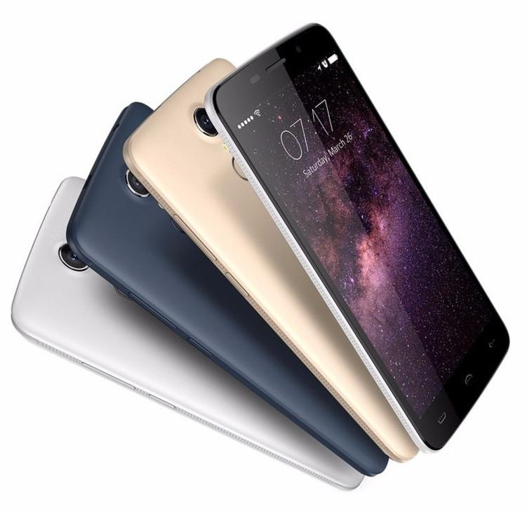 Смартфон Doogee Homtom HT17 Pro 2/16Gb, 2sim, 4G, экран 5.5'' IPS, 4 ядра, 13/5Мп, 3000mAh, GPS, Android 6.0