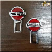 Заглушки для ремня безопасности Nisan, к-т.