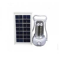Фонарь кемпинговый + Power Bank + внешняя солнечная панель (LED 35). Хорошее качество. Фонарик. Код: КДН1406