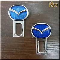Заглушки для ремня безопасности Mazda, к-т.