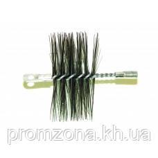 Щетка металлическая для чистки котла/дымохода, Ø - 300 (Польша)