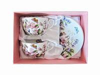 Чайный набор Душистый горошек 4 приборы (Фарфоровая посуда)