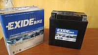 Аккумулятор для мотоцикла гелевый EXIDE SLA12-9= AGM12-9  9 Ah 135x75x139