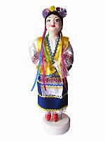 Кукла сувенирная-оберег Украиночка (синяя юбка) (Куклы)