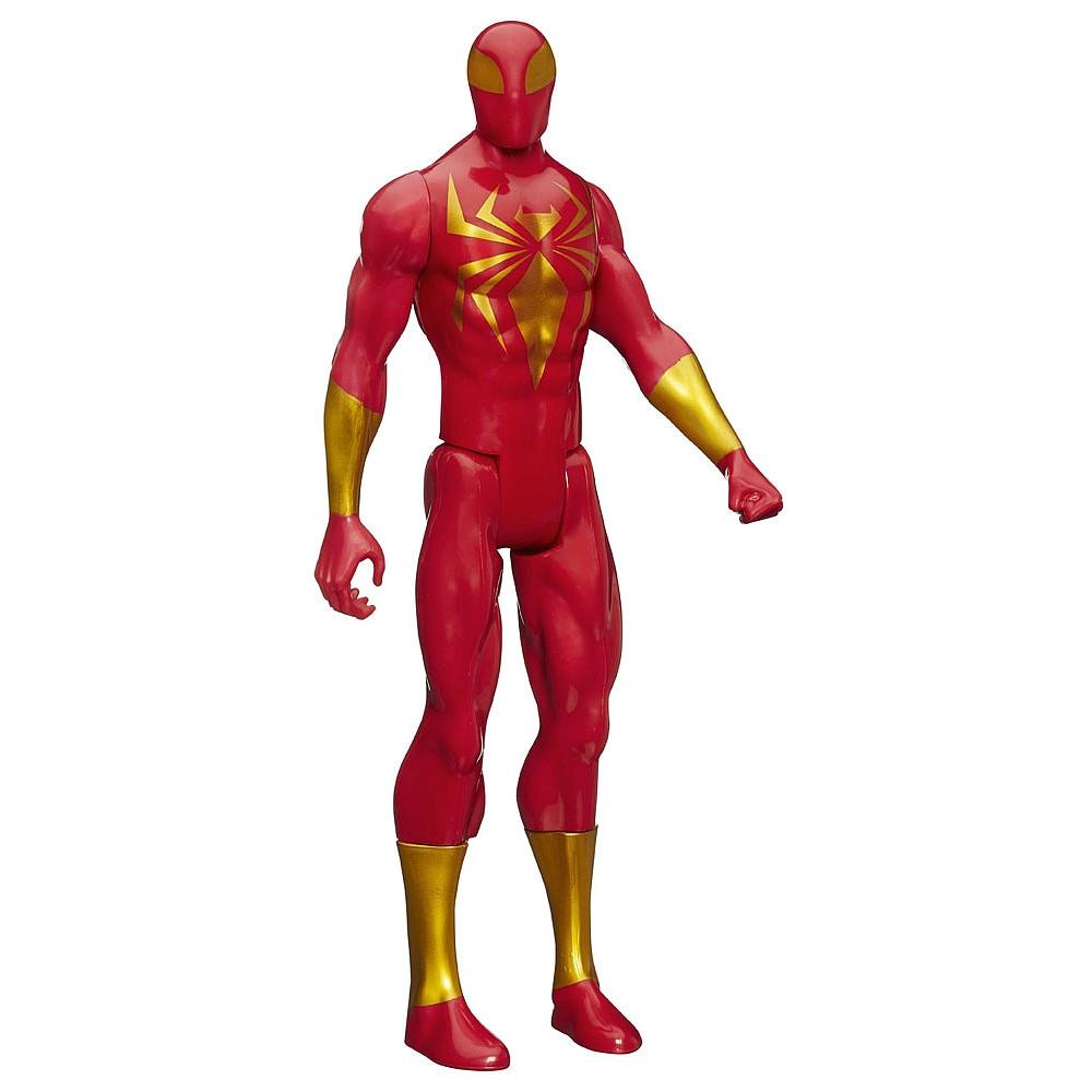 Большая фигурка Hasbro Железный Паук 30см- Iron Spider, Titan Hero Series