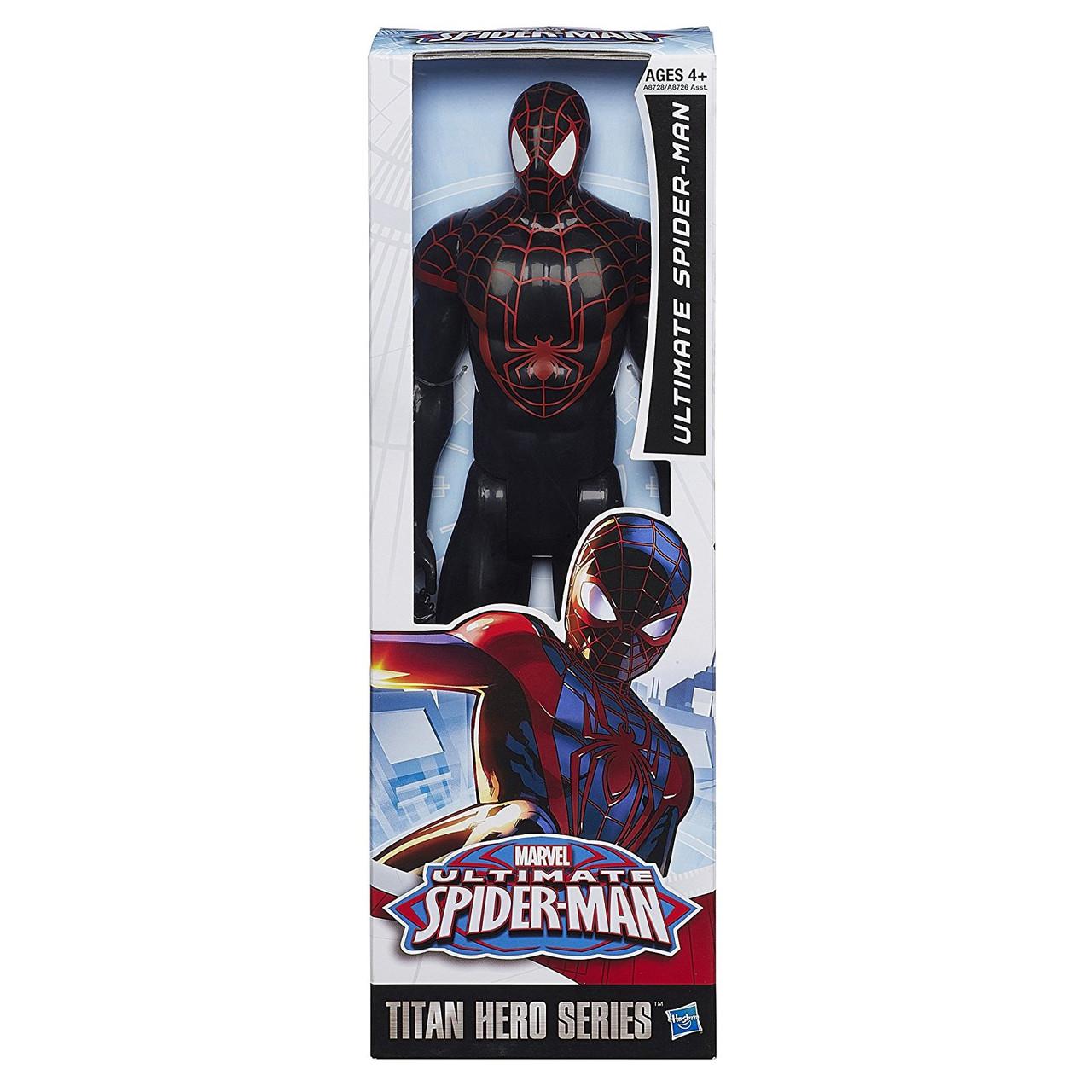"Игрушка-фигурка Совершенный Человек-Паук - Ultimate Spider-man, ""Titan Hero Series"", Hasbro"