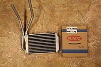 Радиатор печки Нексия N 150 (KMC) нового образца (тонкий)