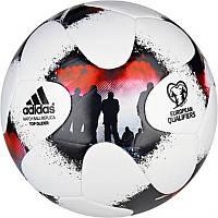 Футбольный мяч European Qualifiers Glider Ball AO4837 адидас - 2017