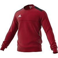 Спортивный реглан адидас Tiro 17 Crew Sweatshirt BQ2671 красный