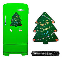 Магнитная доска на холодильник Зеленая Ёлочка