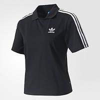 Женская футболка-поло Adidas Originals 3-Stripes BJ8171