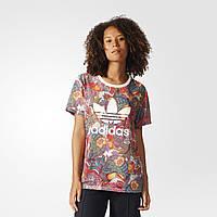 Футболка Adidas Originals женская Fugiprabali Trefoil Boyfriend BJ8406