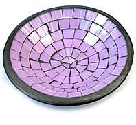 Тарелка для дома мозаика