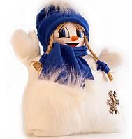 Подушка снеговик 1