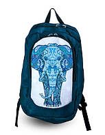 Рюкзак туристический спортивный Синий слон