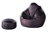 Кресло-груша + пуф-цилиндр Матролюкс