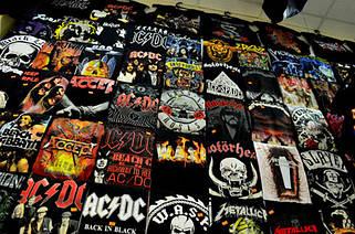 Рок-атрибутика, футболки