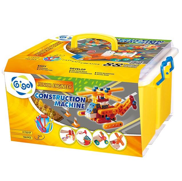 Развивающие и обучающие игрушки «Gigo» (7331P) конструктор Юный инженер-2