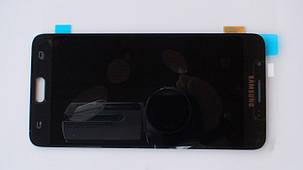 Дисплей с сенсором Samsung J510 Galaxy J5 Black оригинал, GH97-18792B, фото 2