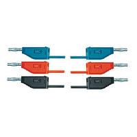 Набор из 15 соединительных проводов для опытов длиной 75 см и сечением 2,5 мм?