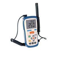 Цифровой прибор для измерения температуры и влажности