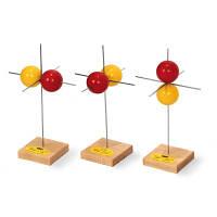 Набор из 3 моделей p-орбиталей