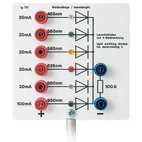 Аппарат для определения постоянной Планка, со светодиодами