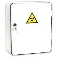 Стальной сейф для радиоактивных материалов