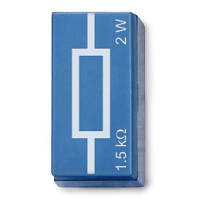 Резистор 1,5 кОм, 2 Вт, P2W19