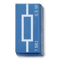 Резистор 1 МОм, 0,5 Вт, P2W19