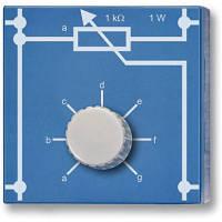 Потенциометр 1 кОм, 1 Вт, P4W50