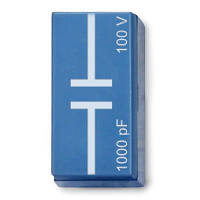 Конденсатор 1 нФ, 100 В, P2W19