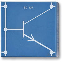Транзистор NPN, BD 137, P4W50