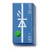 Светодиод, зеленый, обращенный вверх, P2W19