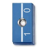 Однополюсный клавишный переключатель, P2W19