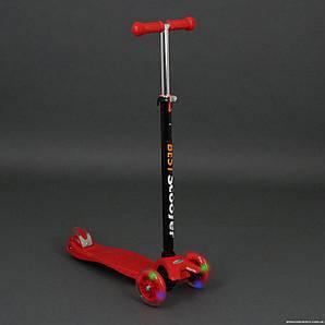 Самокат детский maxi scooter до 70 кг Красный