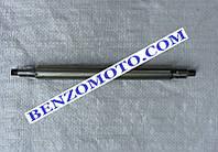 Вал трансмиссии вертикальной редукторной роторной косилки Т1100 мотоблока