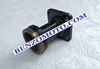 Корпус трансмиссии ножа редукторной роторной косилки Т1100 мотоблока