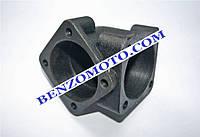 Корпус шестиренчатой пары (90 градусов) редукторной роторной косилки Т1100 мотоблока