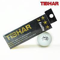 Мячи для настольного тенниса TIBHAR 3 звезды