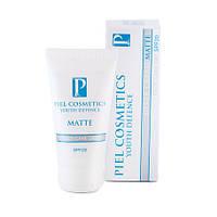 Крем PIEL Youth Defence Silver Cream MATTE, SPF20 ежедневный дневной уход за лицом c матирующим эффектом для нормальной\комбинированной кожи