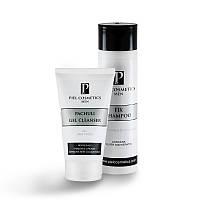 PIEL Комплекс: Очищение кожи лица и безупречная прическа для мужчин. Базовый комплекс 3.