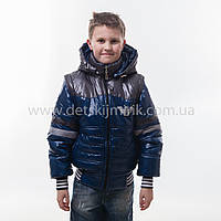 "Демисезонная куртка трансформер для мальчика ""Армани"" , фото 1"