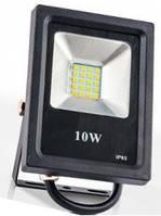 Прожектор EVRO LIGHT ES-10-01 6400K 550Lm SMD, прожектор светодиодный 10 вт